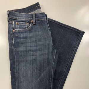 7 for all mankind Bootcut Low Rise Jeans DZ17